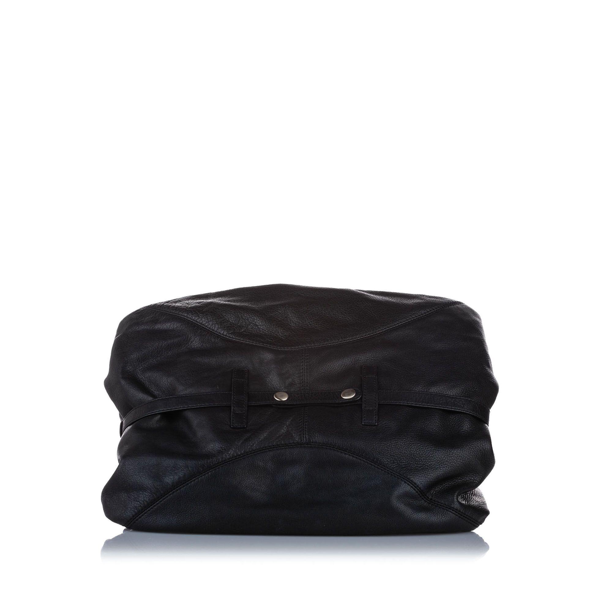Vintage Givenchy Leather Handbag Black