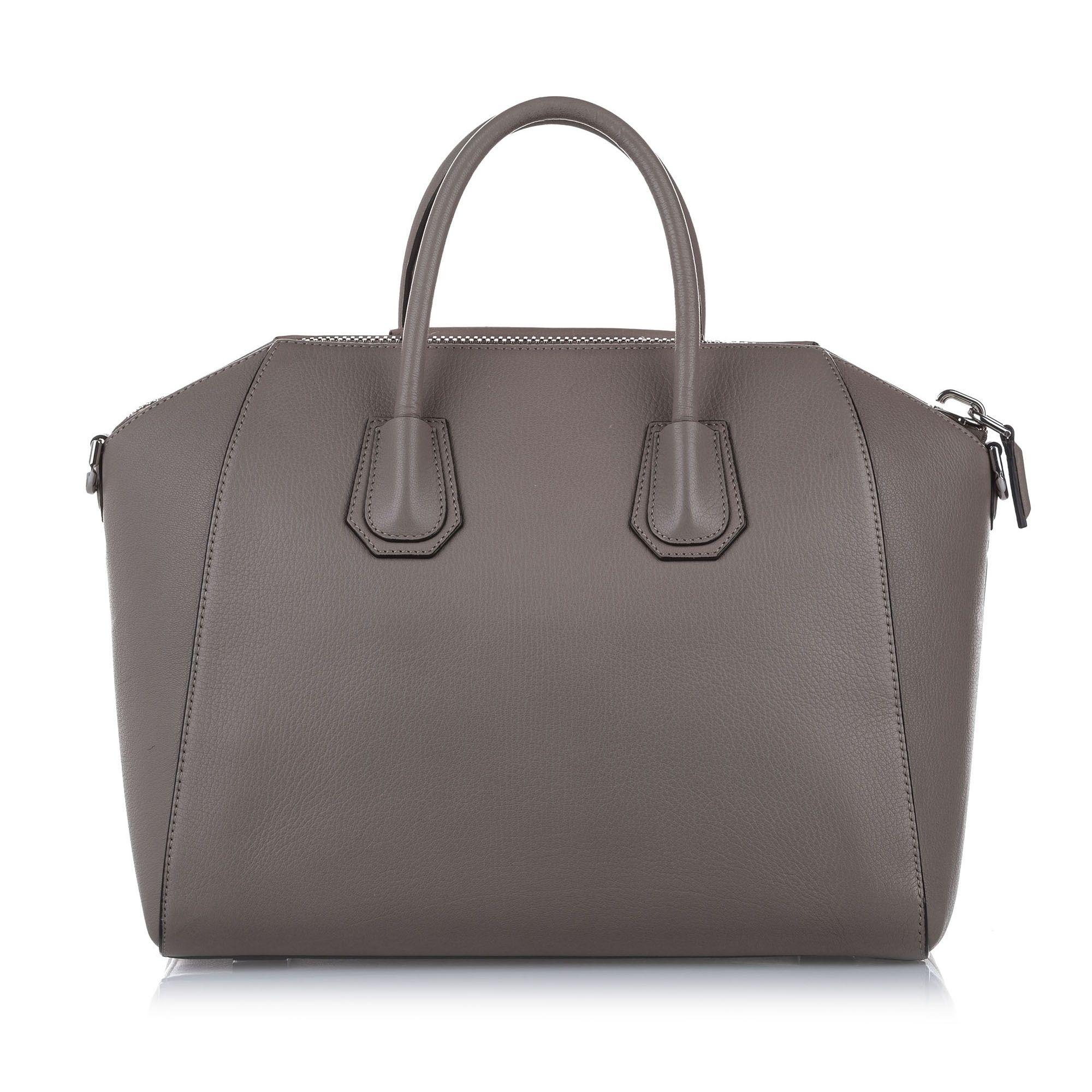 Vintage Givenchy Medium Antigona Leather Satchel Brown