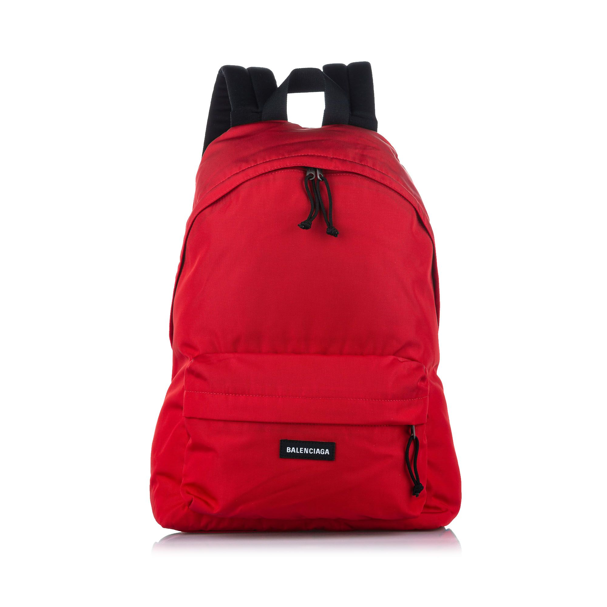 Vintage Balenciaga Explorer Nylon Backpack Red