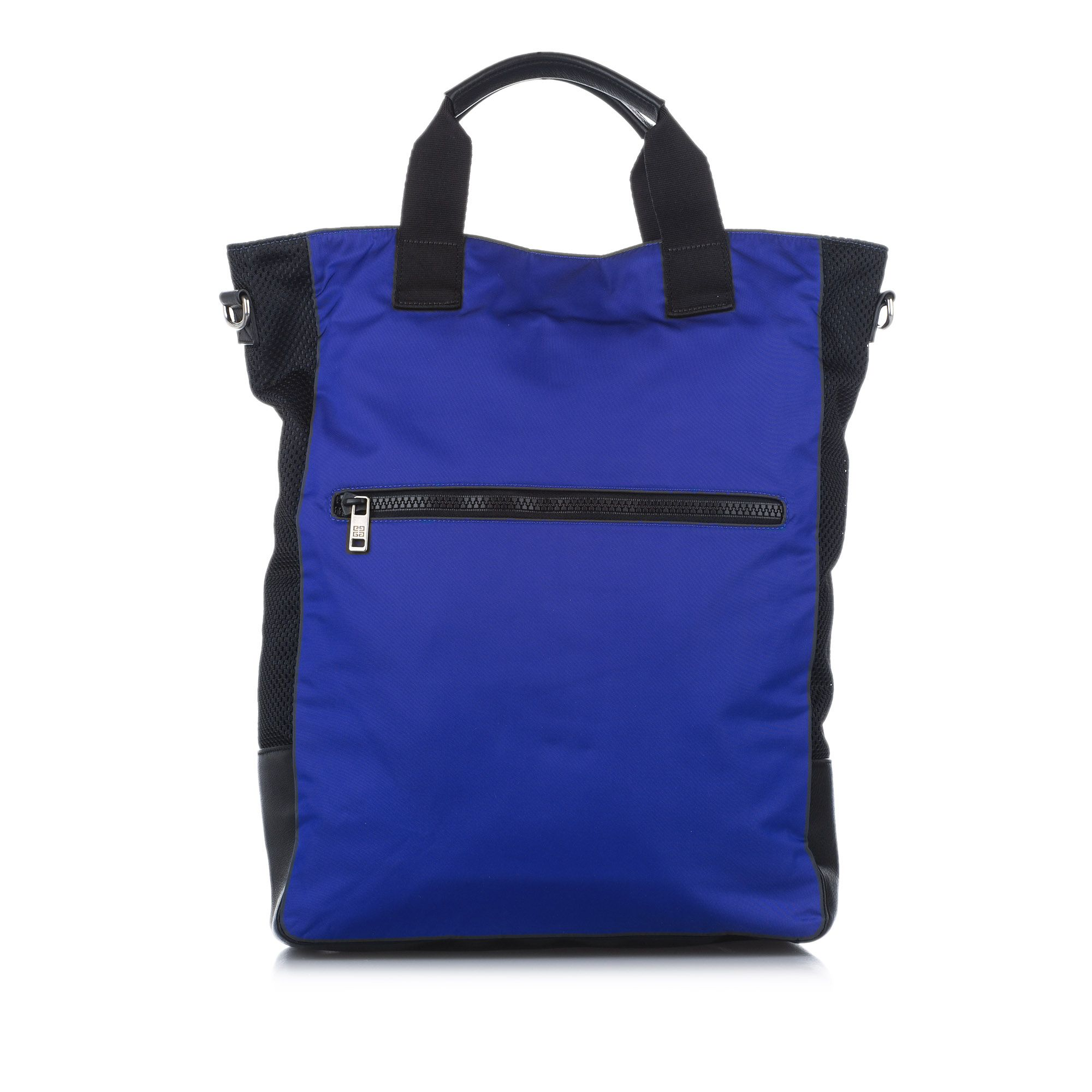 Vintage Givenchy UT3 Nylon Tote Bag Blue