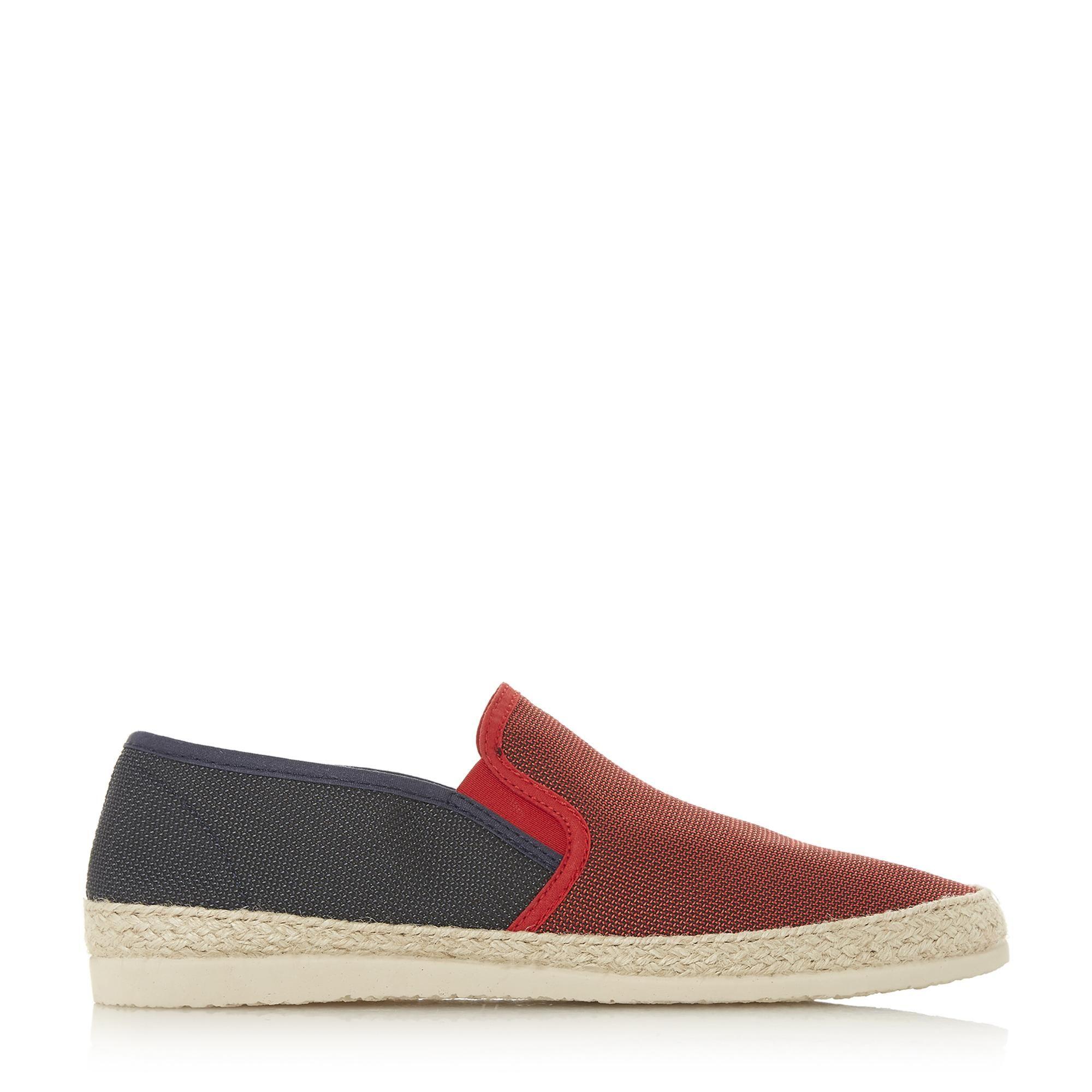Dune Mens FINCHO Mesh Woven Espadrilles Shoes