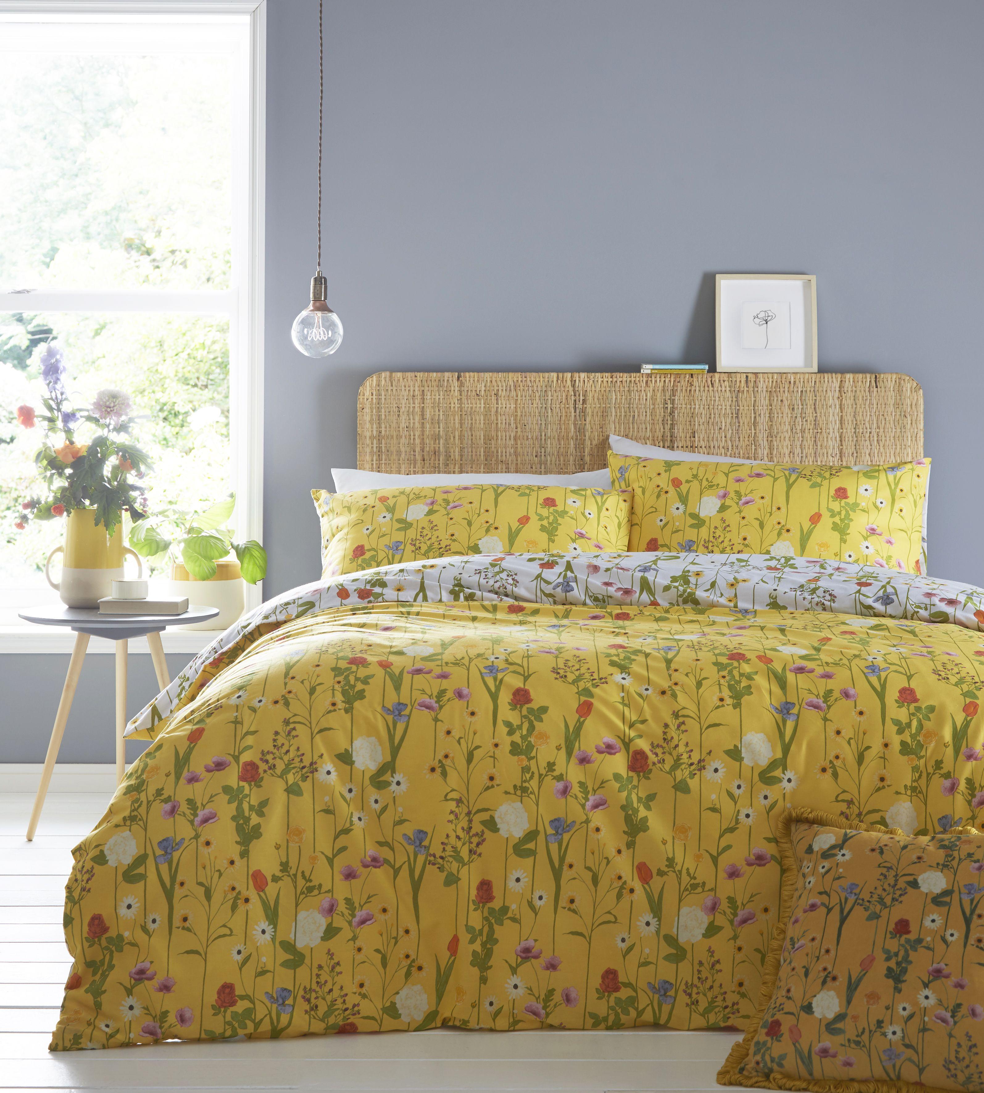 Fleura Duvet Set Yellow