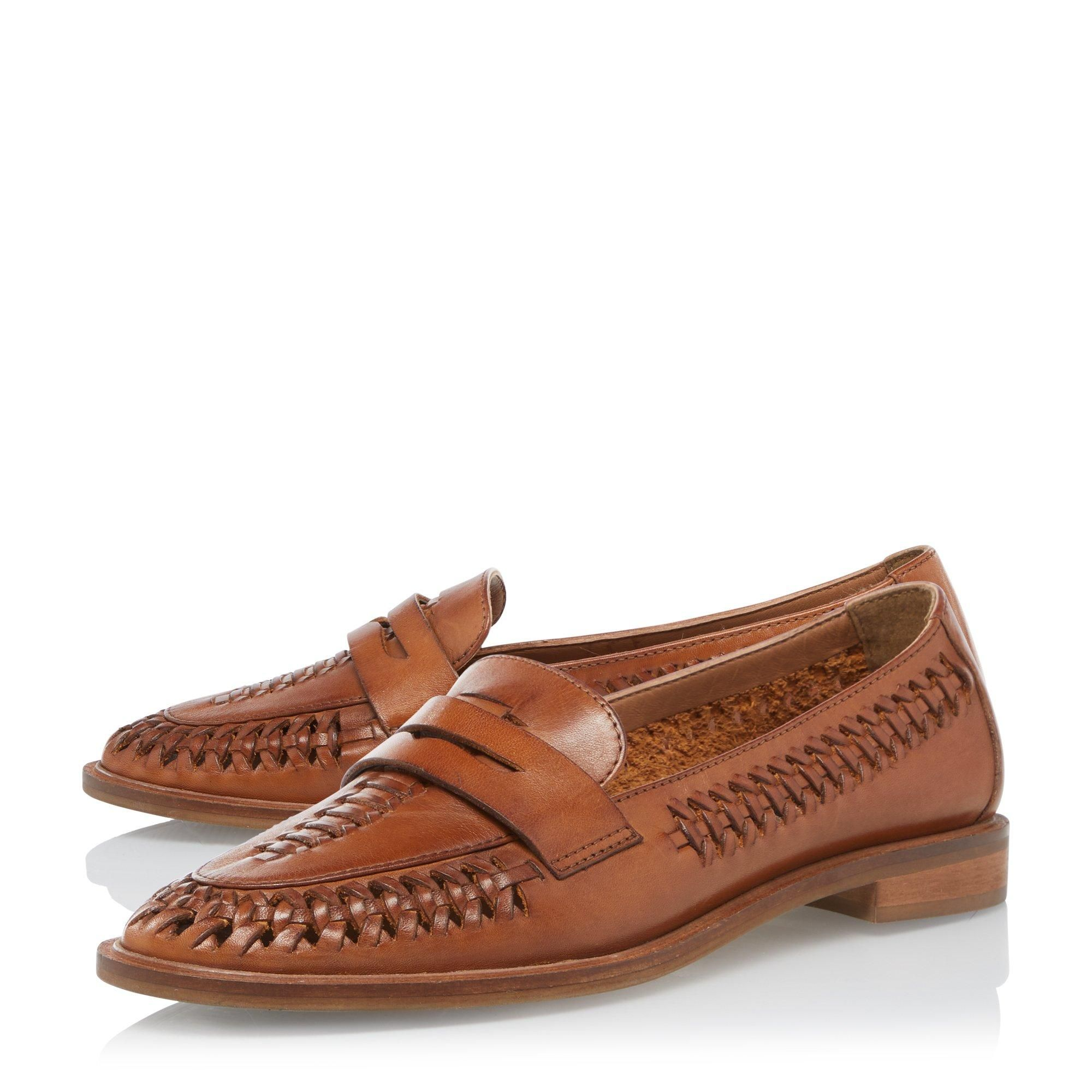 Dune Ladies GAILLS Woven Penny Loafer