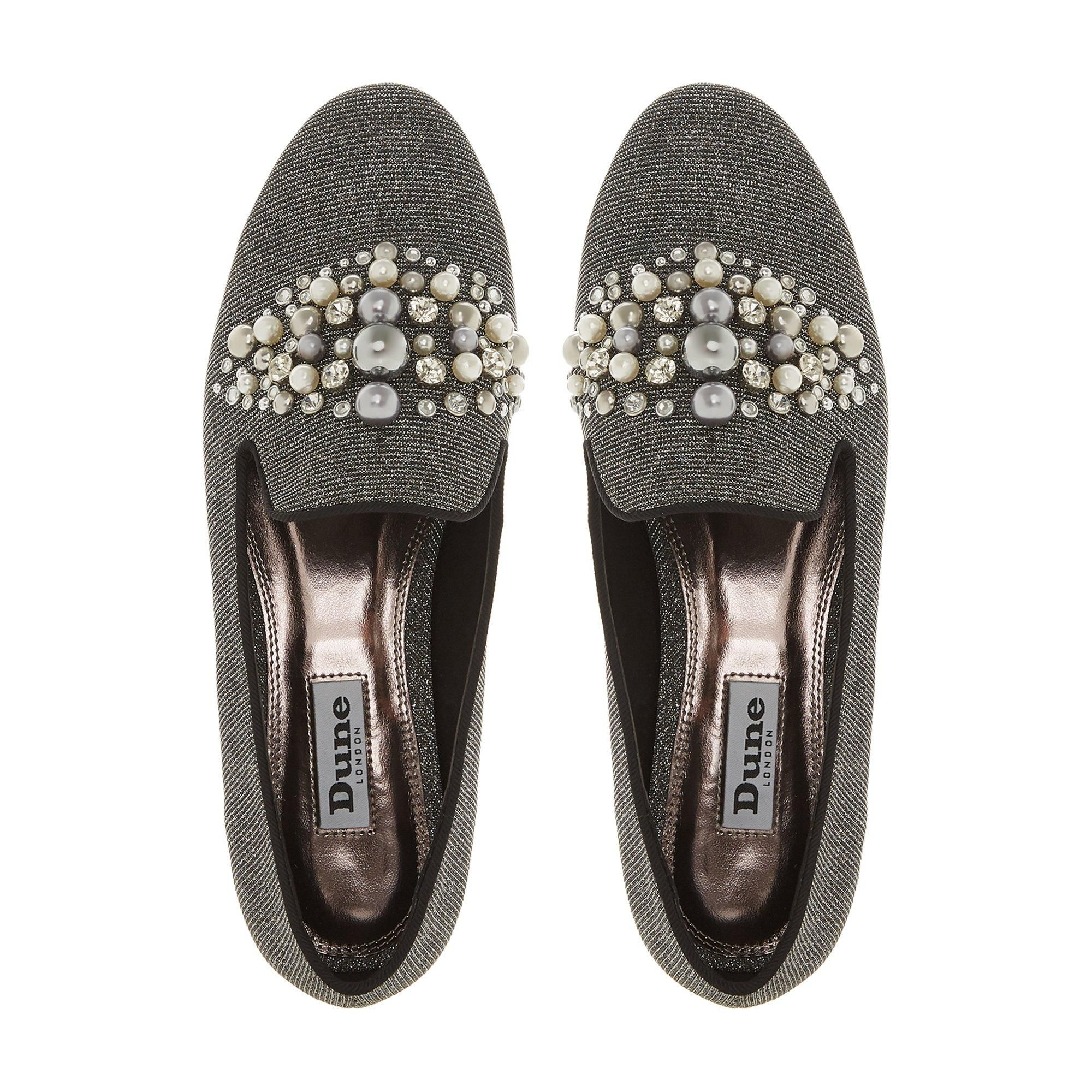 Dune Ladies GALINAA Pearl Embellished Loafer