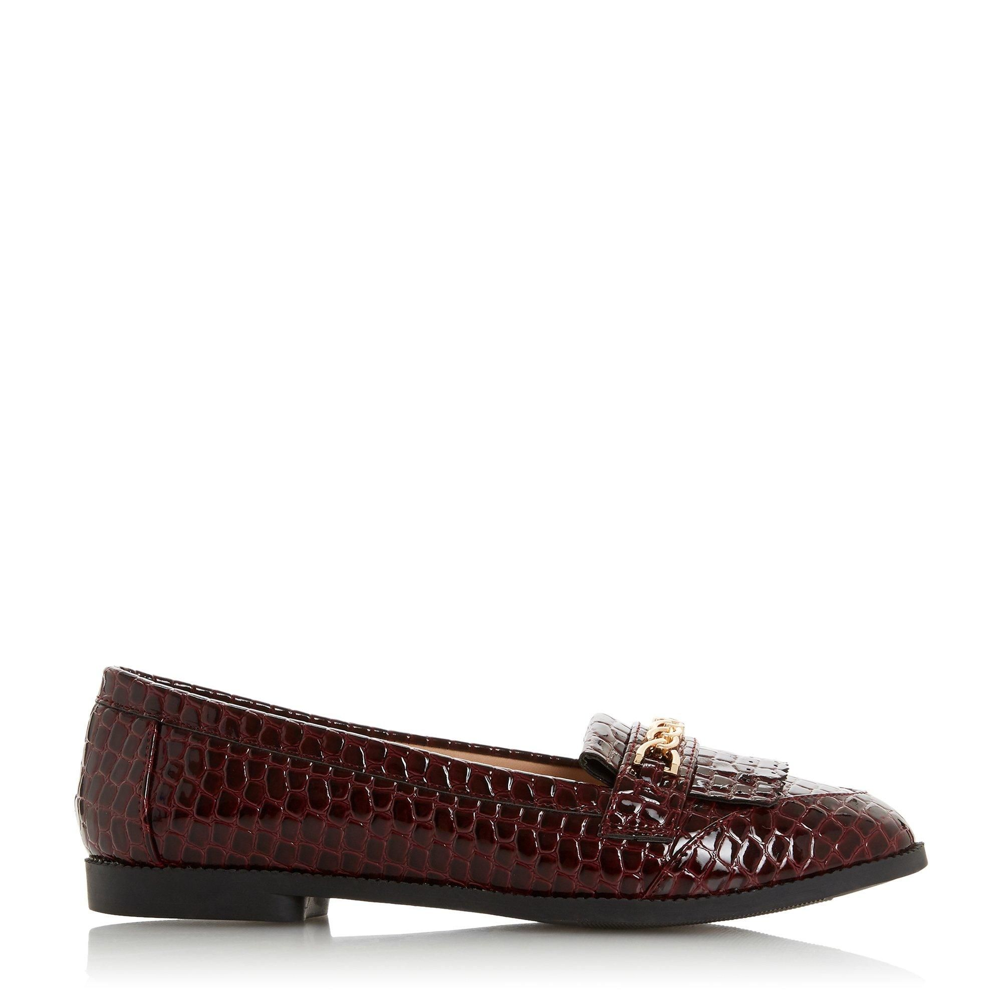 Head Over Heels by Dune Ladies GILES Chain Fringe Loafer