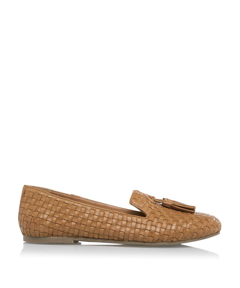 Dune Ladies GILSA Woven Tassel Loafers
