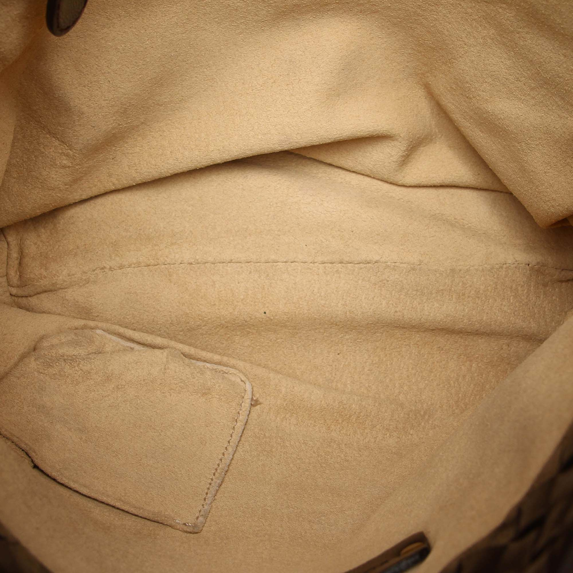 Vintage Gucci GG Supreme Business Bag Black