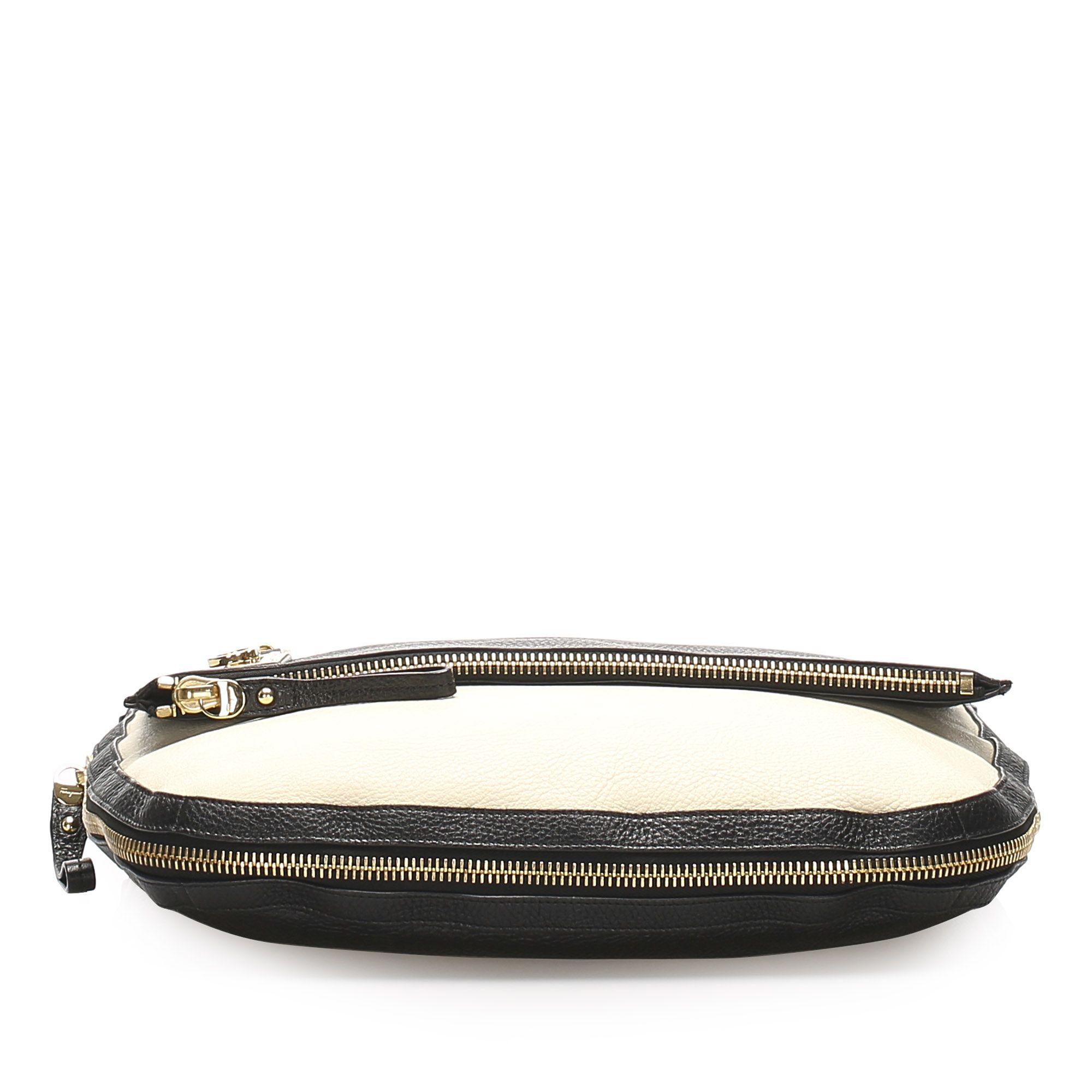 Vintage Ferragamo Leather Handbag Black