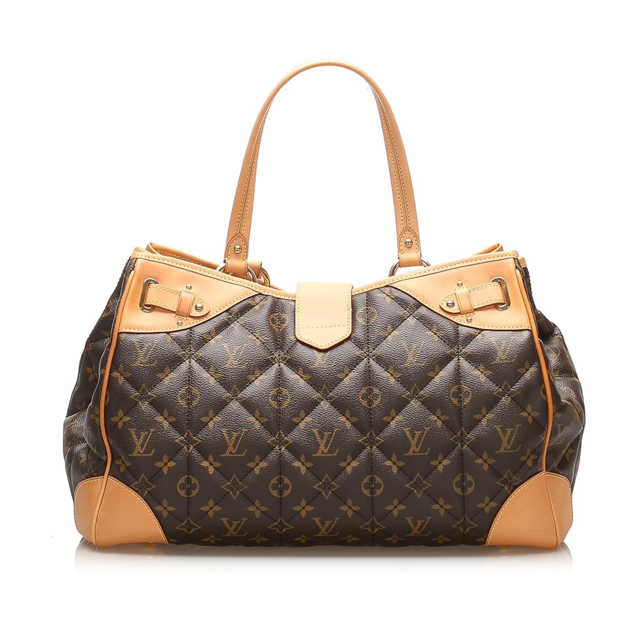 Vintage Louis Vuitton Monogram Etoile Shopper Brown