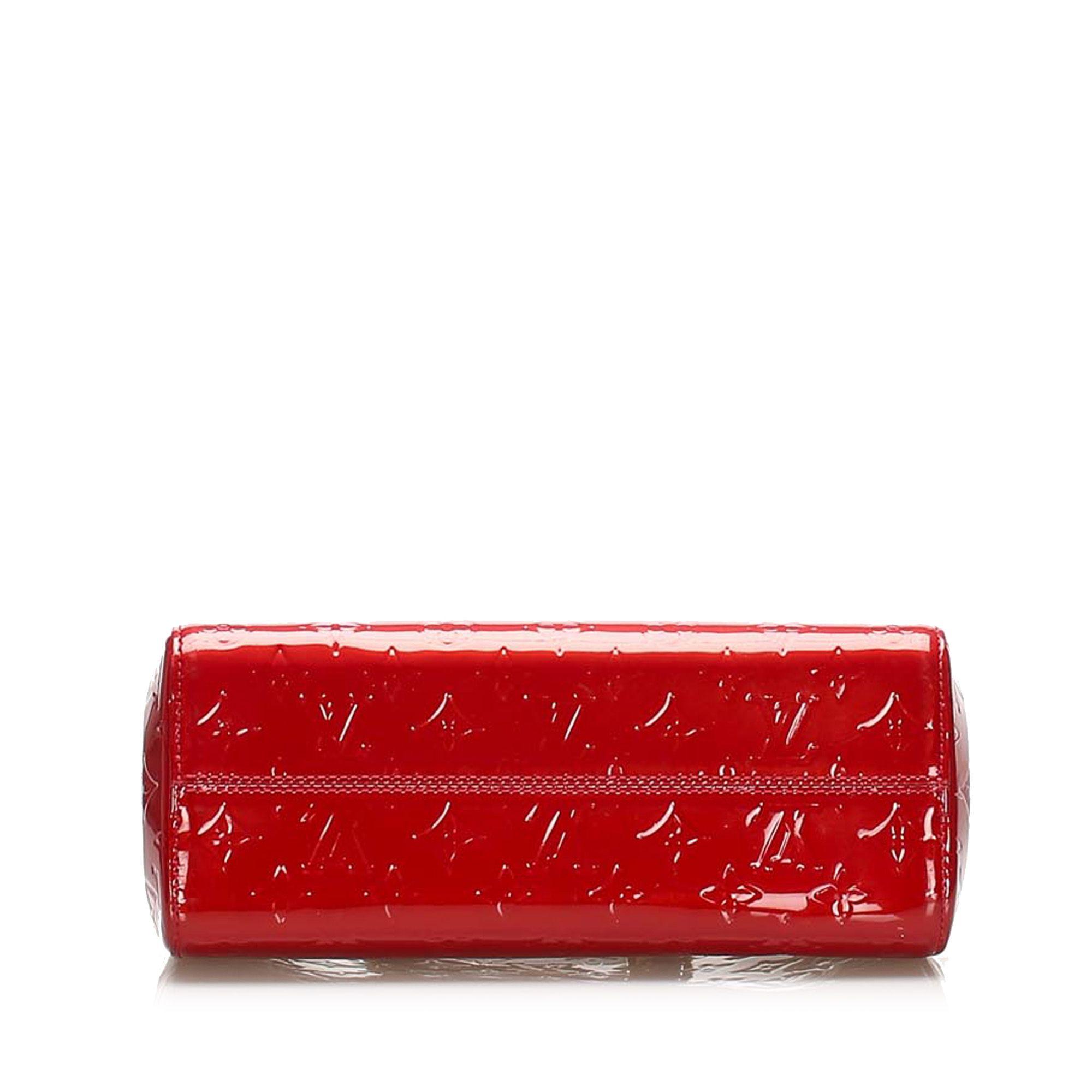 Vintage Louis Vuitton Vernis Brea PM Red