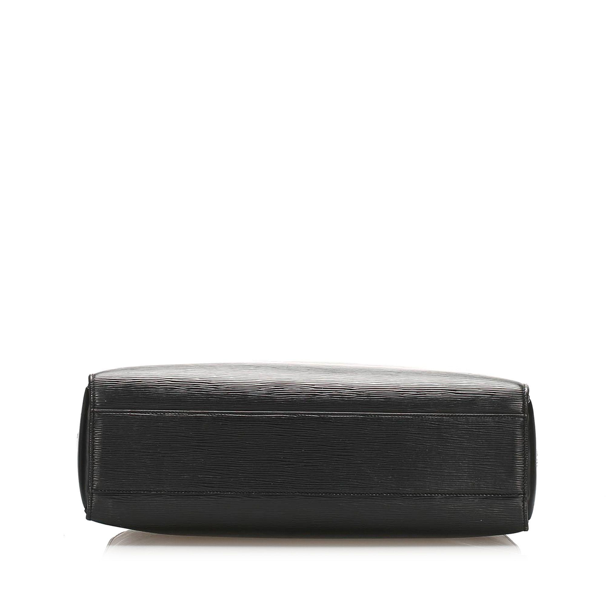 Vintage Louis Vuitton Epi Sorbonne Black