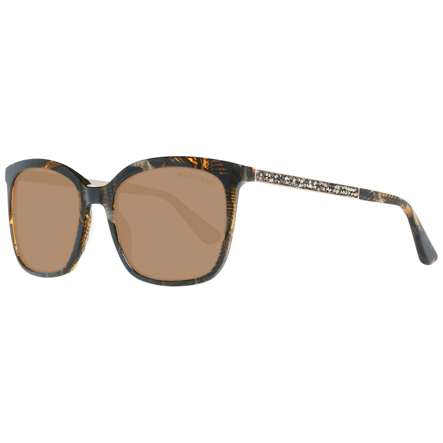 Guess by Marciano Sunglasses GM0756 50E 54 Women Brown