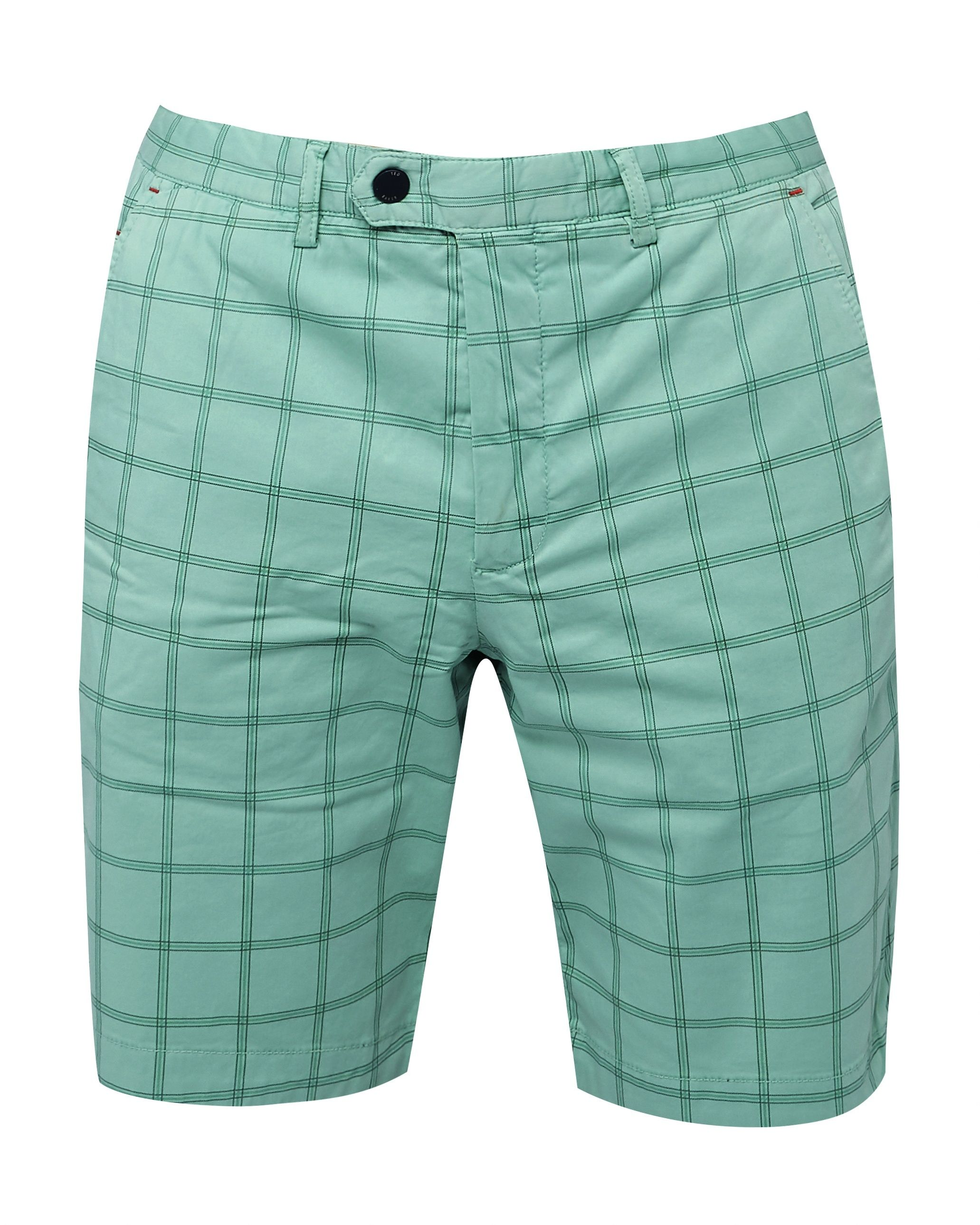 Ted Baker Golfshr Printed Golf Chino Shorts, Green