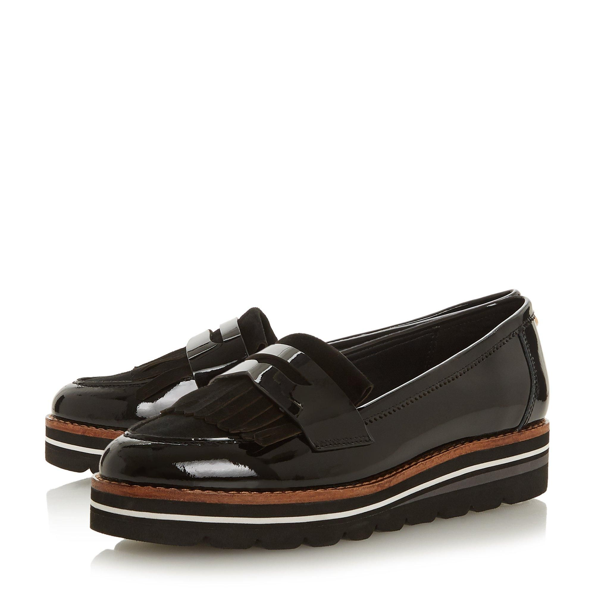 Dune Ladies GRACELLA Flatform Slip On Loafer