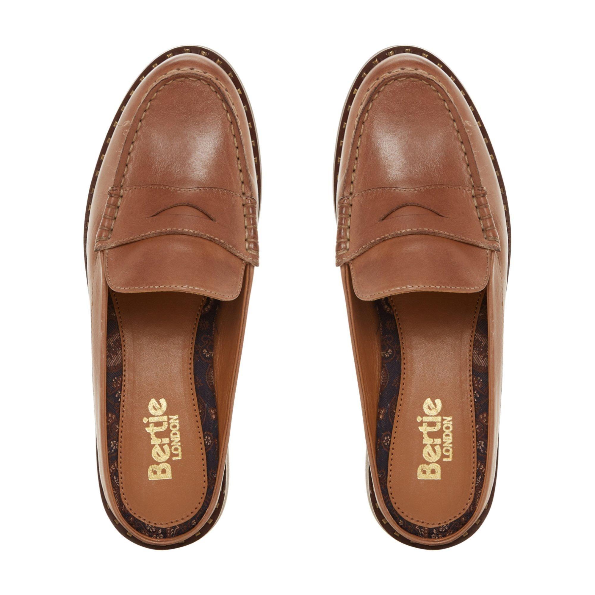 Bertie Ladies GREENLAND Leather Mule Loafer