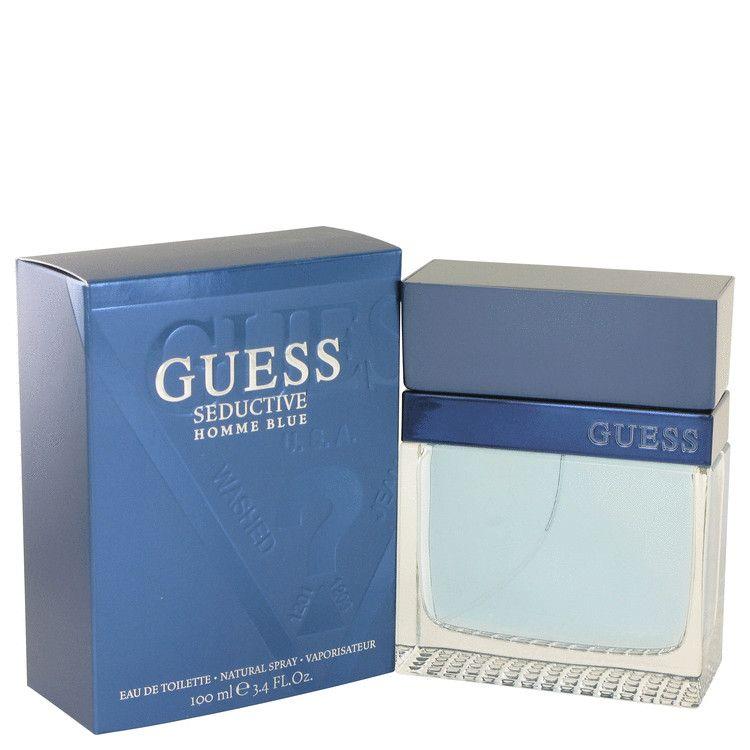 Guess Seductive Homme Blue Eau De Toilette Spray By Guess 100 ml