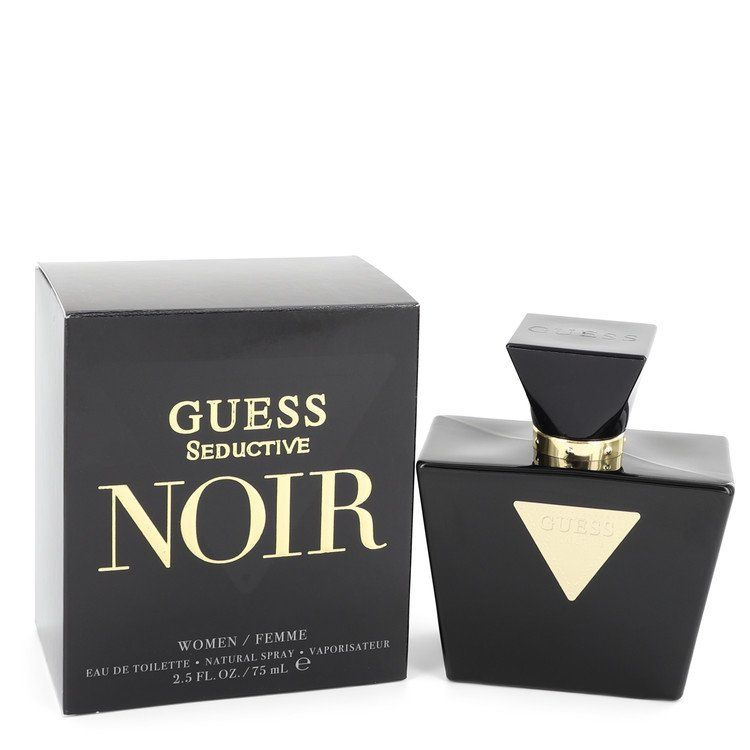 Guess Seductive Noir Eau De Toilette Spray By Guess 75 ml