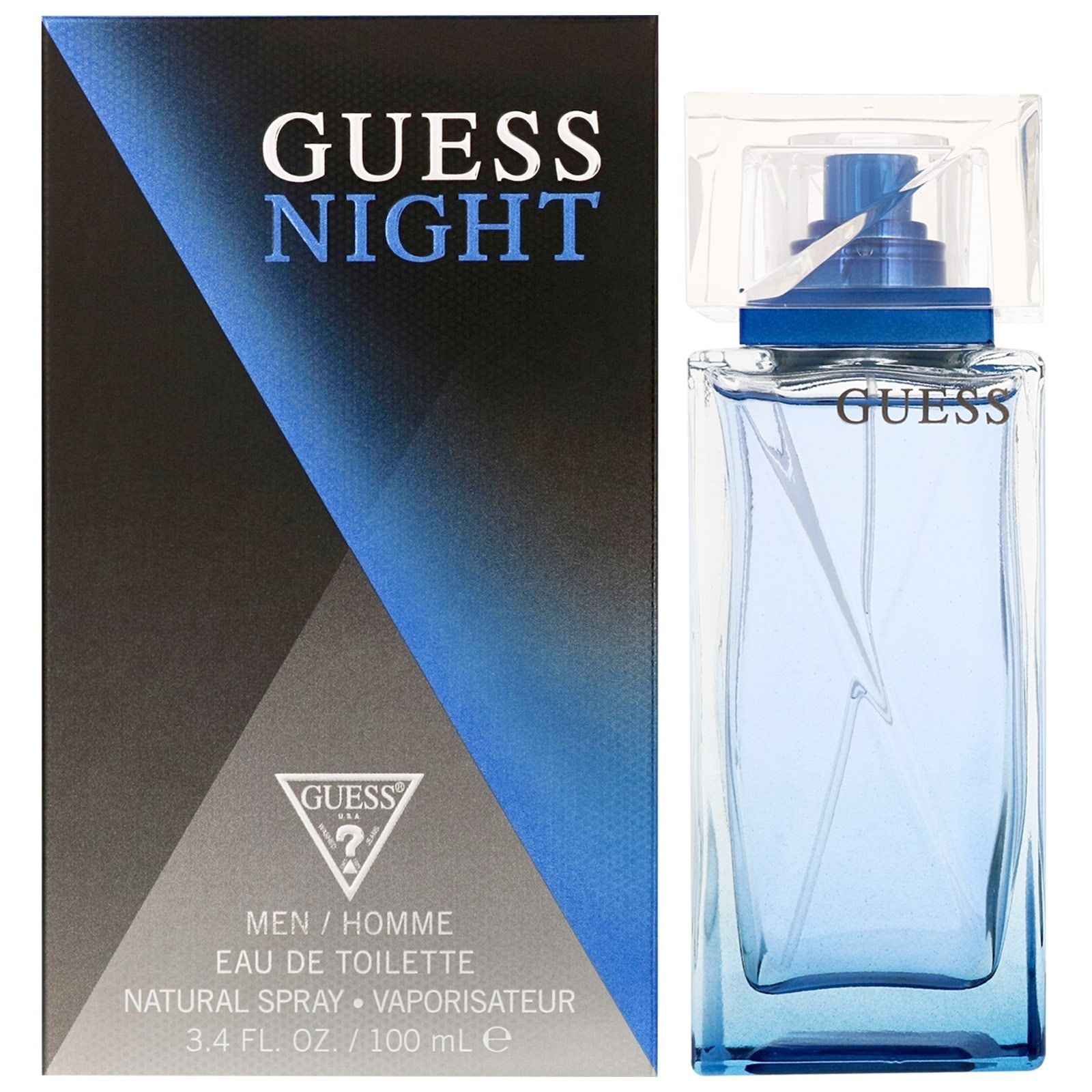 Guess Night For Men Eau De Toilette Spray 100Ml