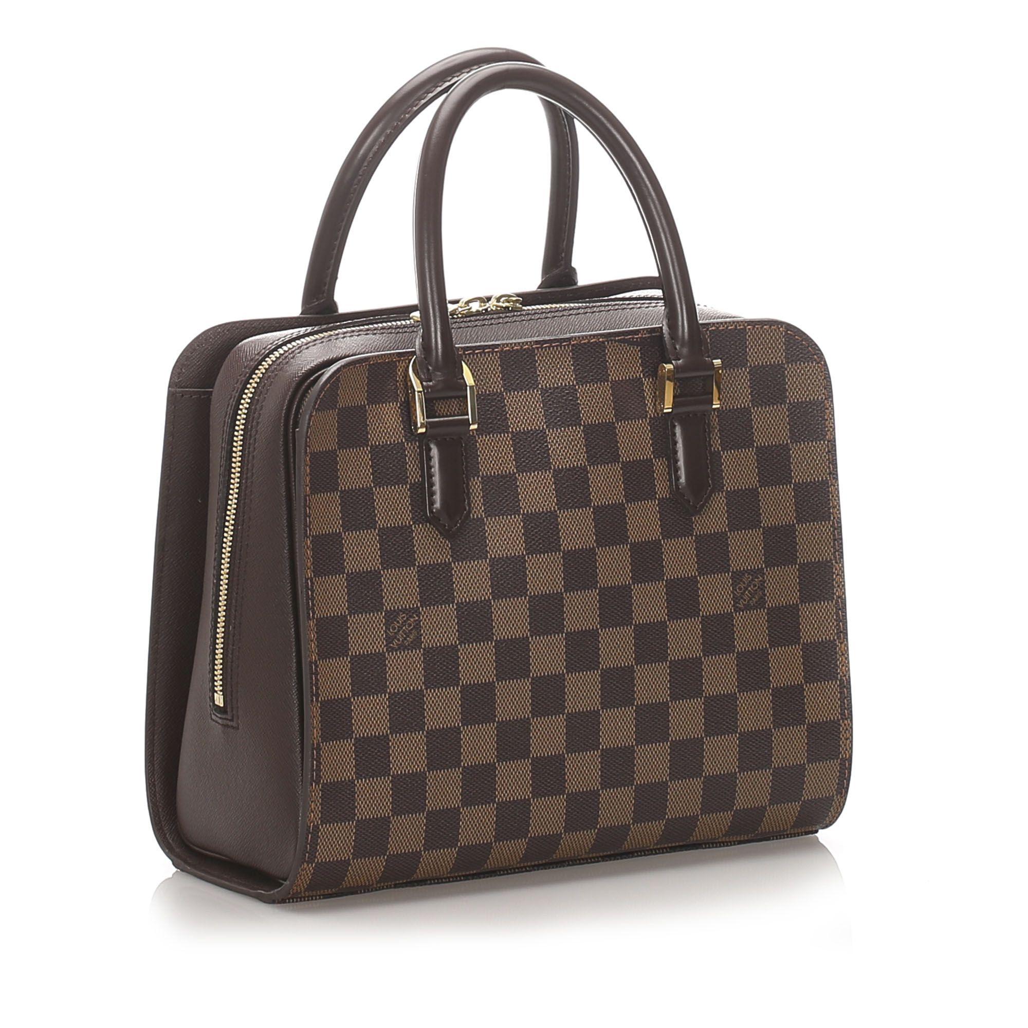 Vintage Louis Vuitton Damier Ebene Triana Brown