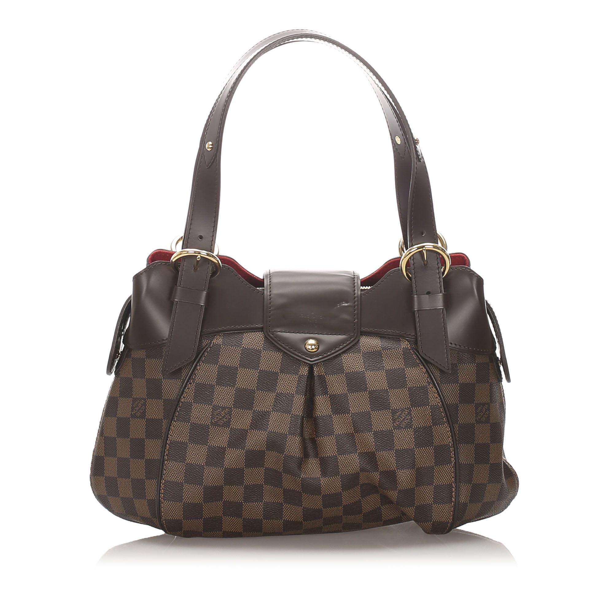 Vintage Louis Vuitton Damier Ebene Sistina PM Brown