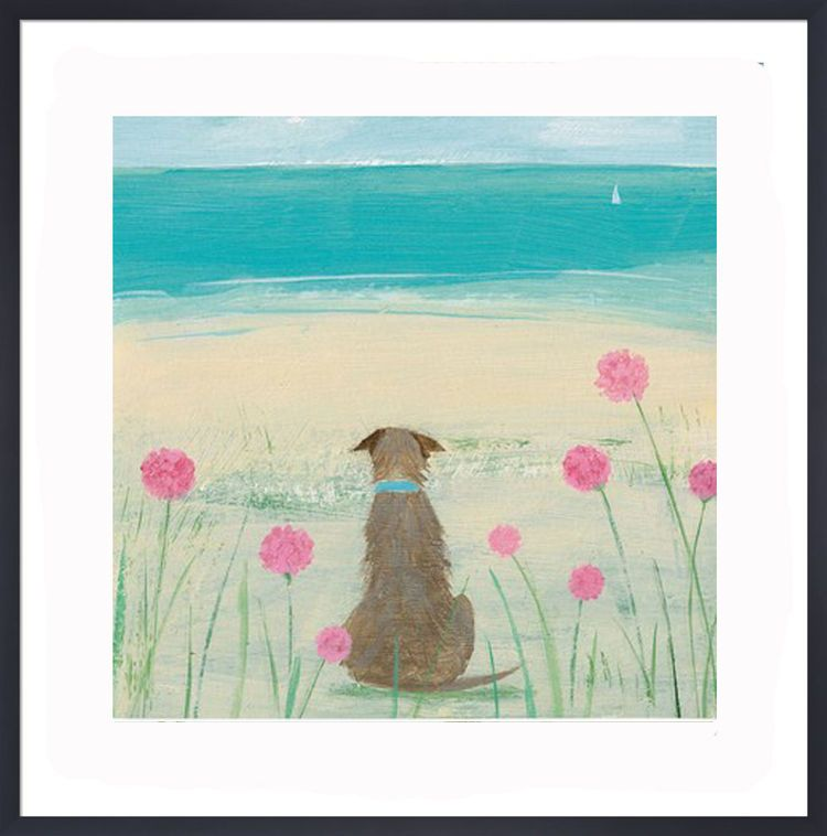 Among the Sea Pinks Art Print by Hannah Cole