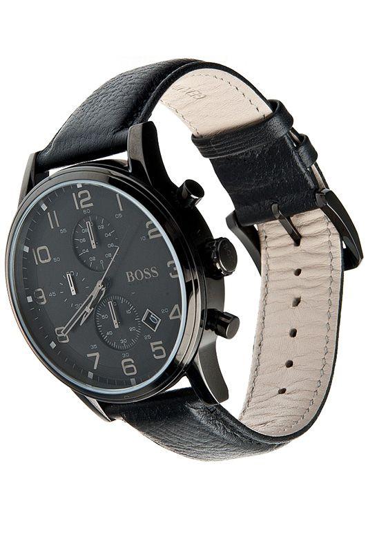 Hugo Boss Mens' Aeroliner Chronograph Watch 1512567