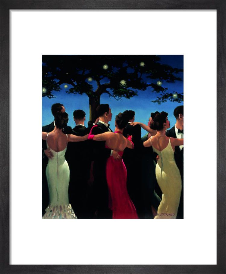 Waltzers by Jack Vettriano
