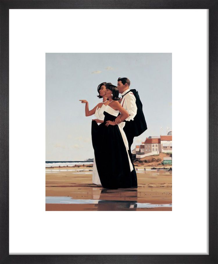 The Missing Man II by Jack Vettriano