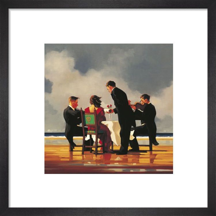 Elegy To A Dead Admiral by Jack Vettriano