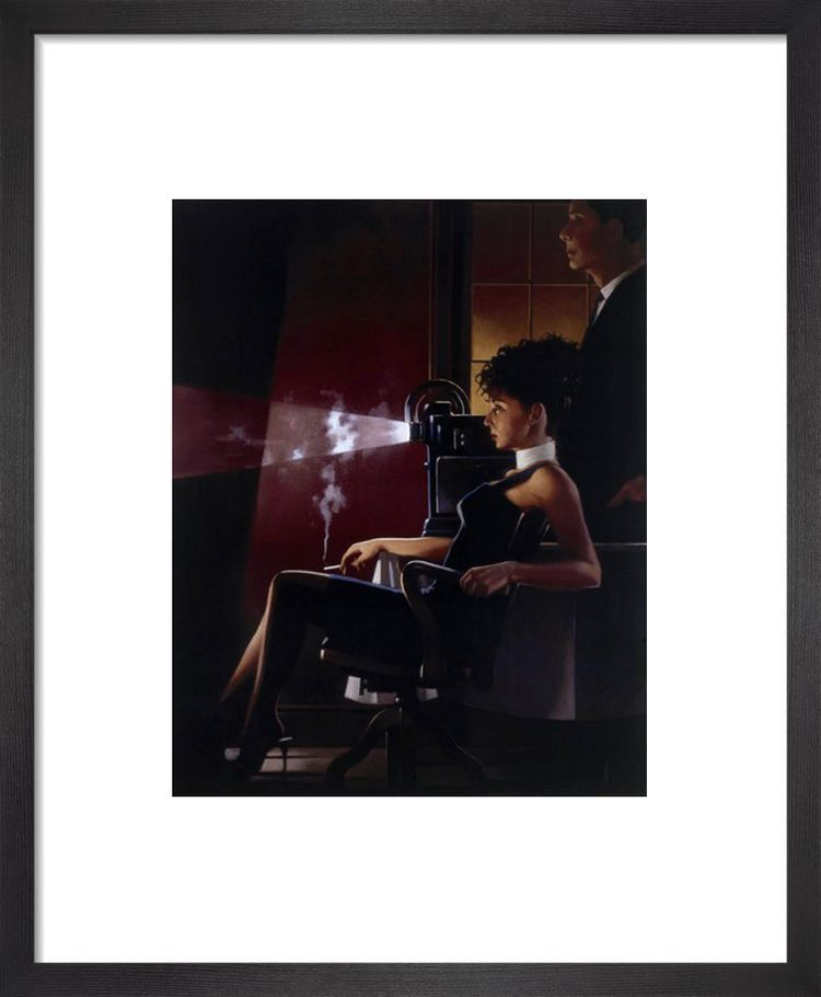An Imperfect Past by Jack Vettriano