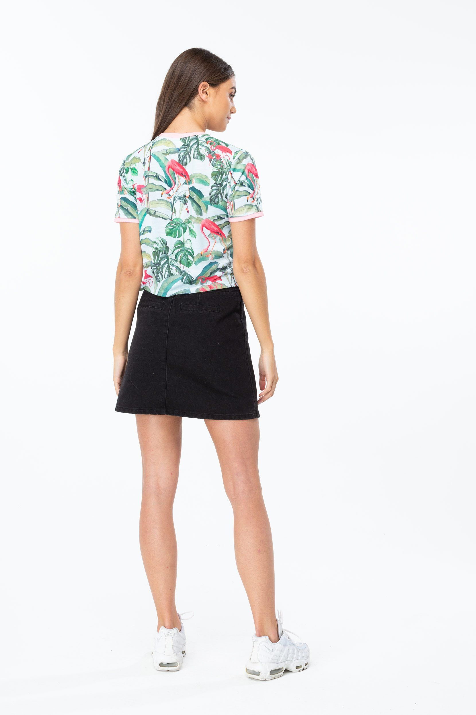 Hype Flamingo Paradise Womens Crop T-Shirt