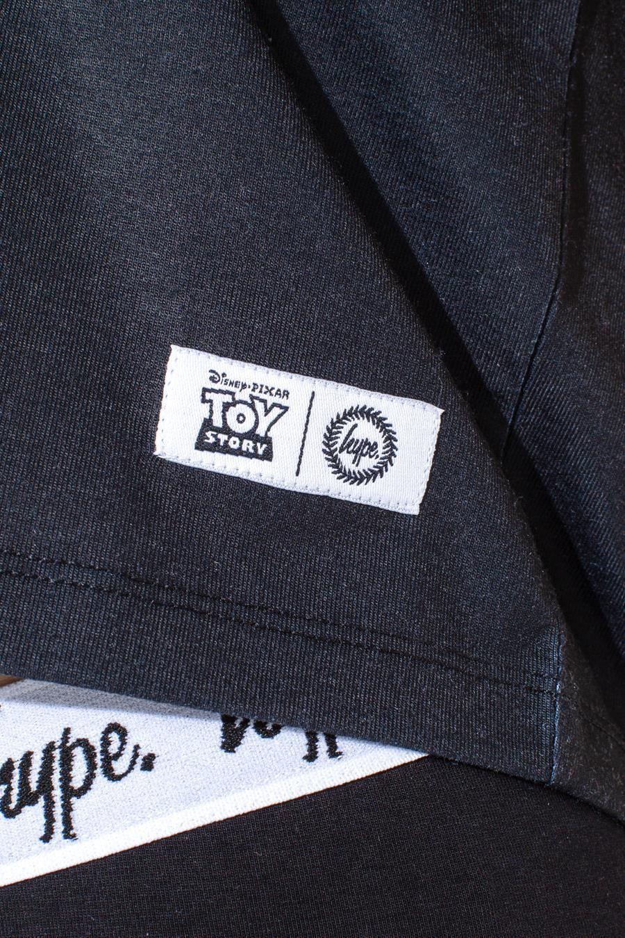 Hype Toy Story Black Aliens Kids Crop T-Shirt