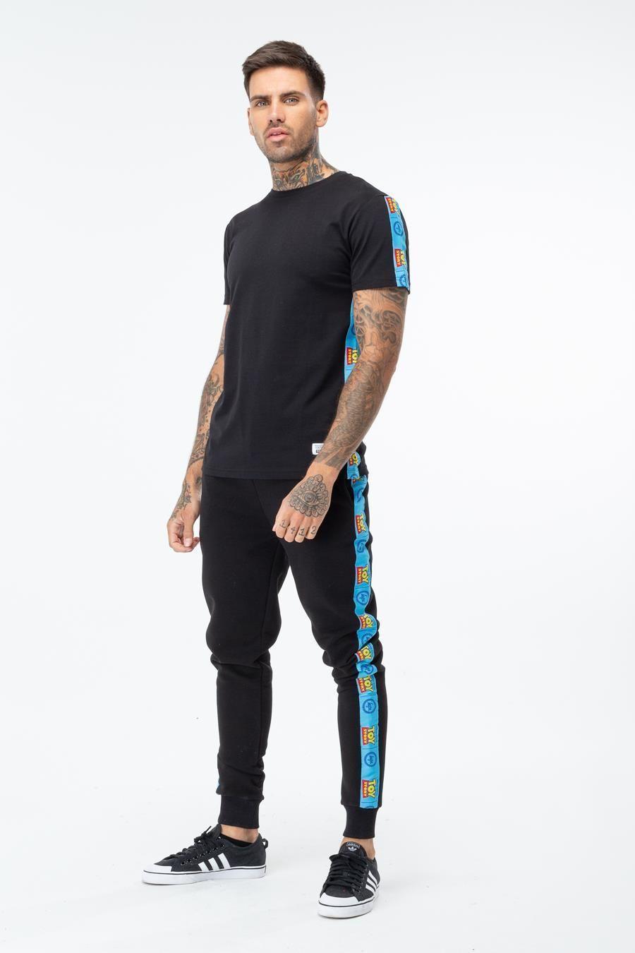 Hype Toy Story Black Logo Taping Mens T-Shirt