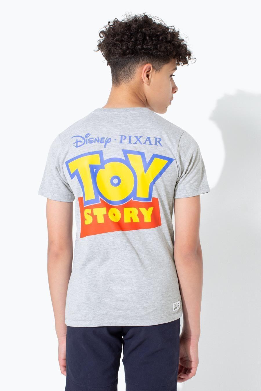 Hype Toy Story Grey Logo Script Kids T-Shirt