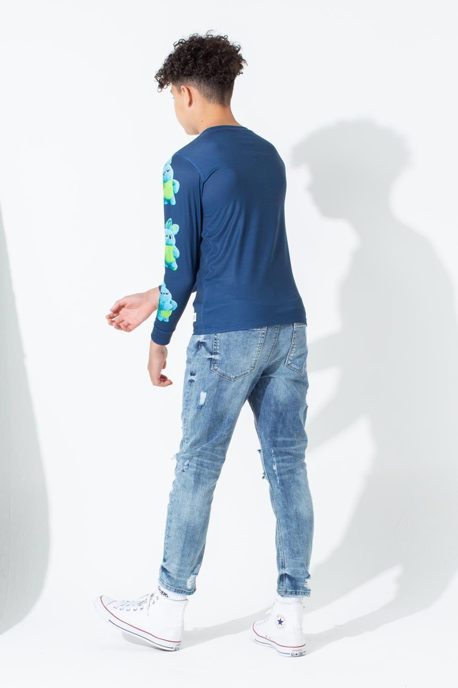Hype Toy Story Blue Ducky Bunny Kids L/S T-Shirt