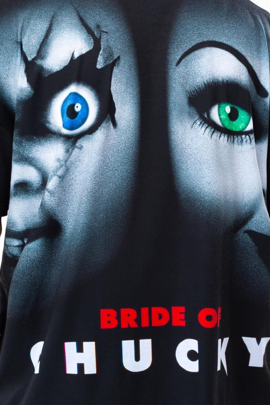 Hype Universal Monsters Bride Of Chucky Mens Oversized T-Shirt