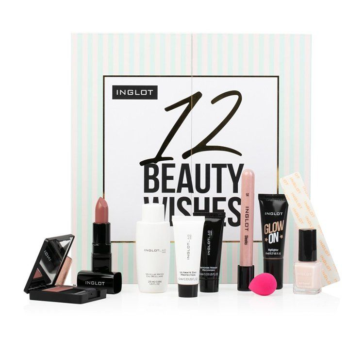 Inglot Christmas Advent Calendar - 12 Beauty Wishes