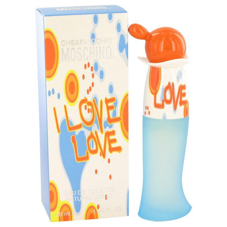 I Love Love Eau De Toilette Spray By Moschino 30 ml