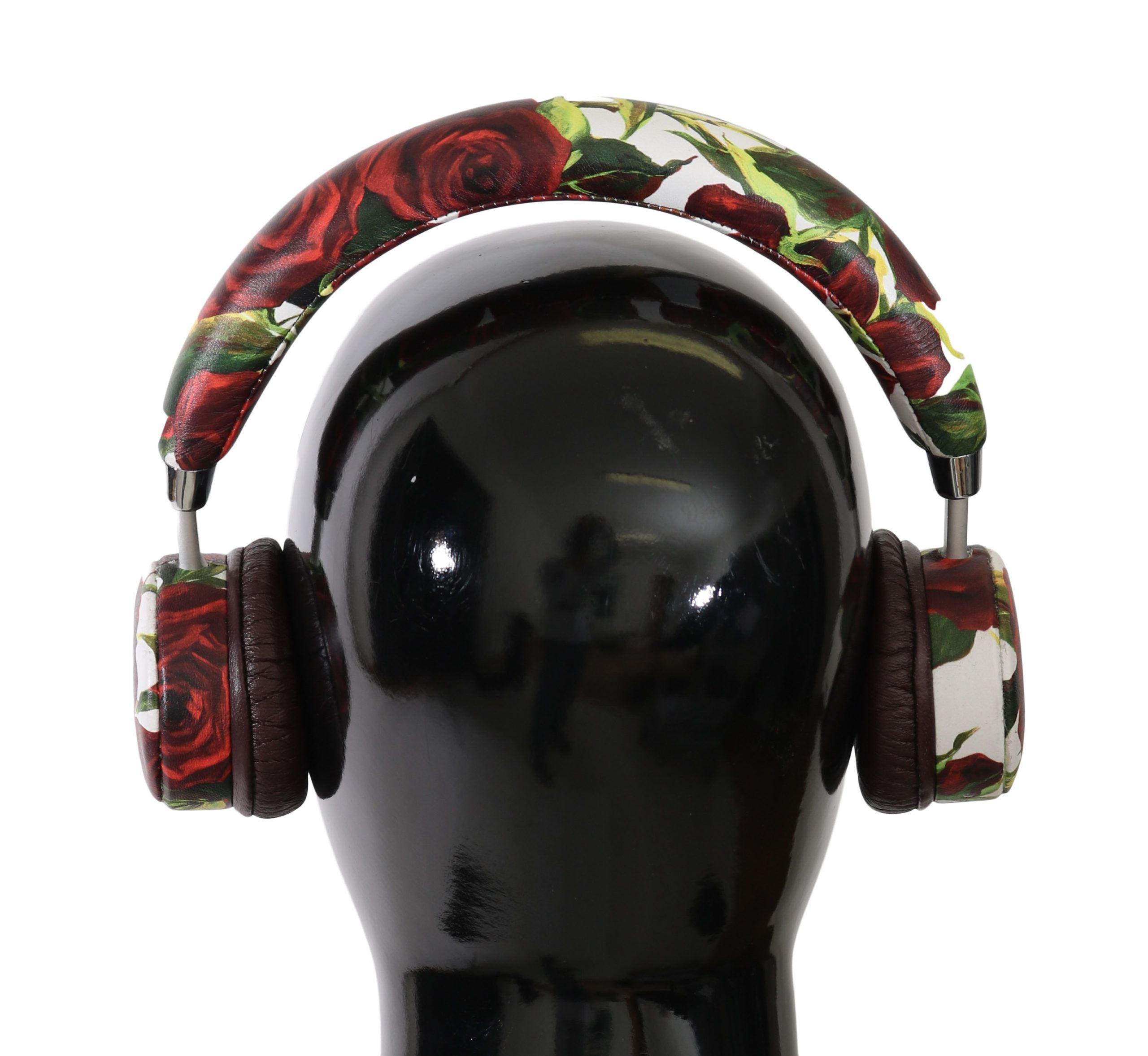 Dolce & Gabbana Leather Roses Floral Wireless Headset Headphone