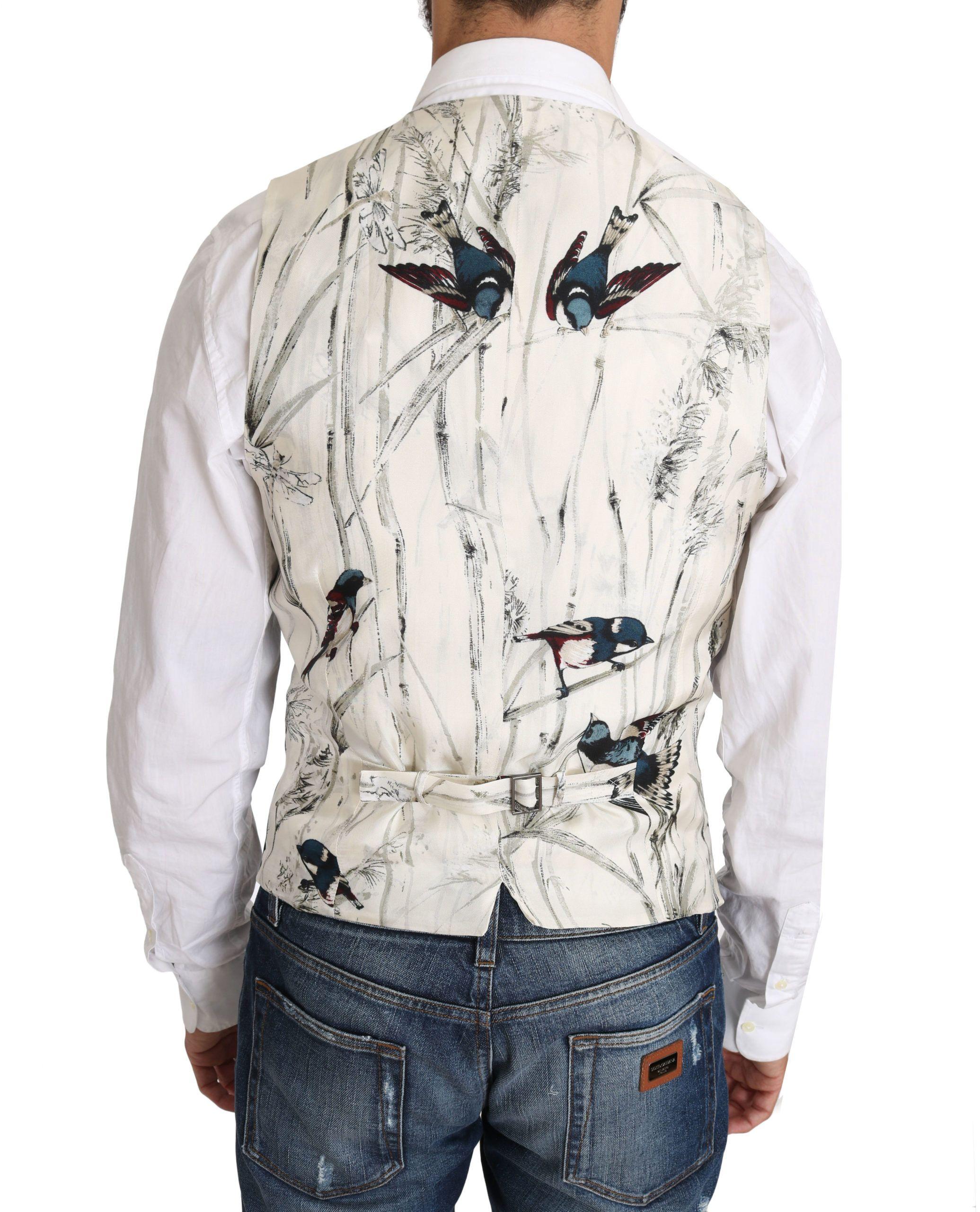 Dolce & Gabbana Black Wool Blend Dress Vest waistcoat