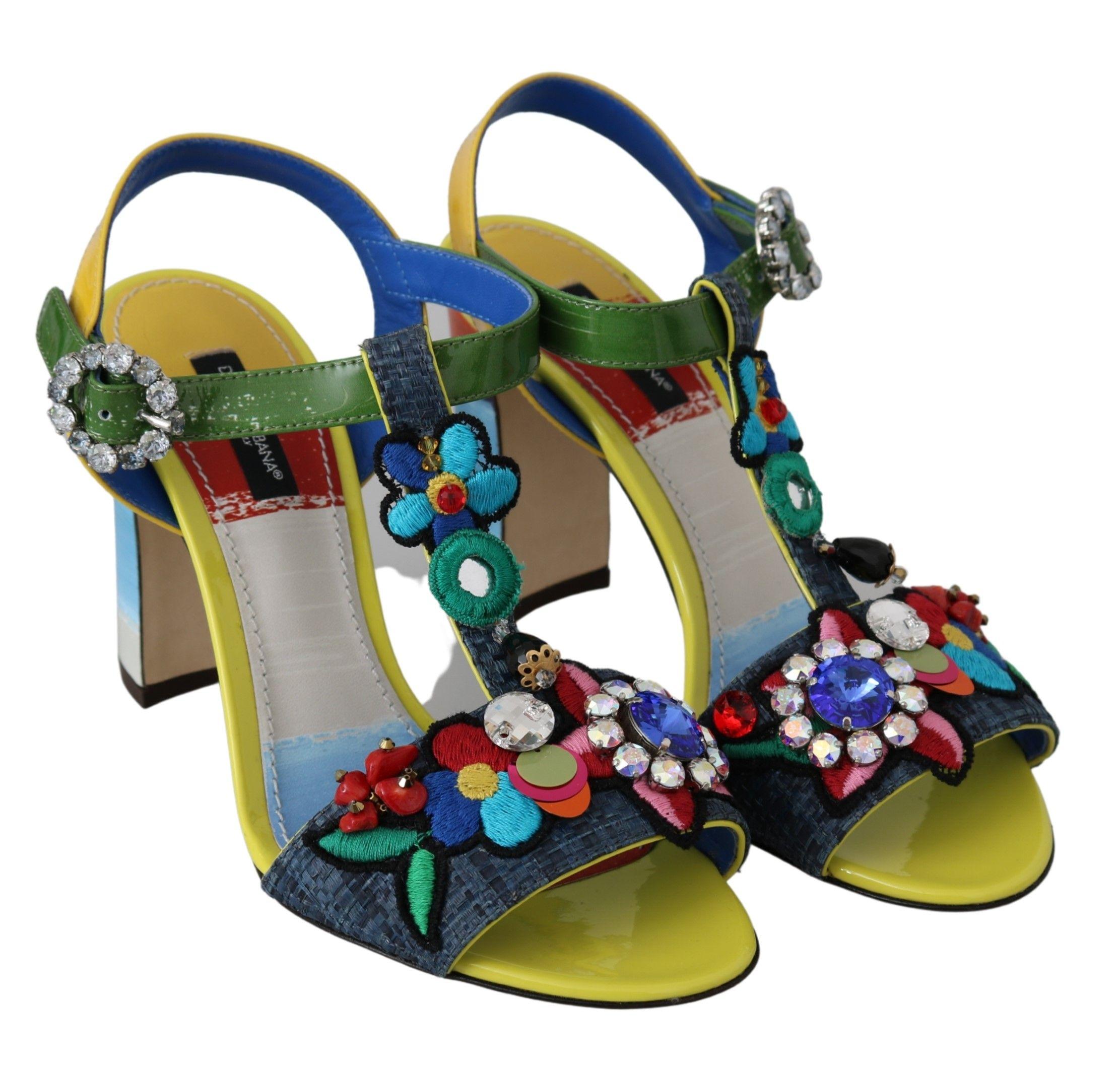 Dolce & Gabbana Black Leather Derby Brogue Dress Shoes