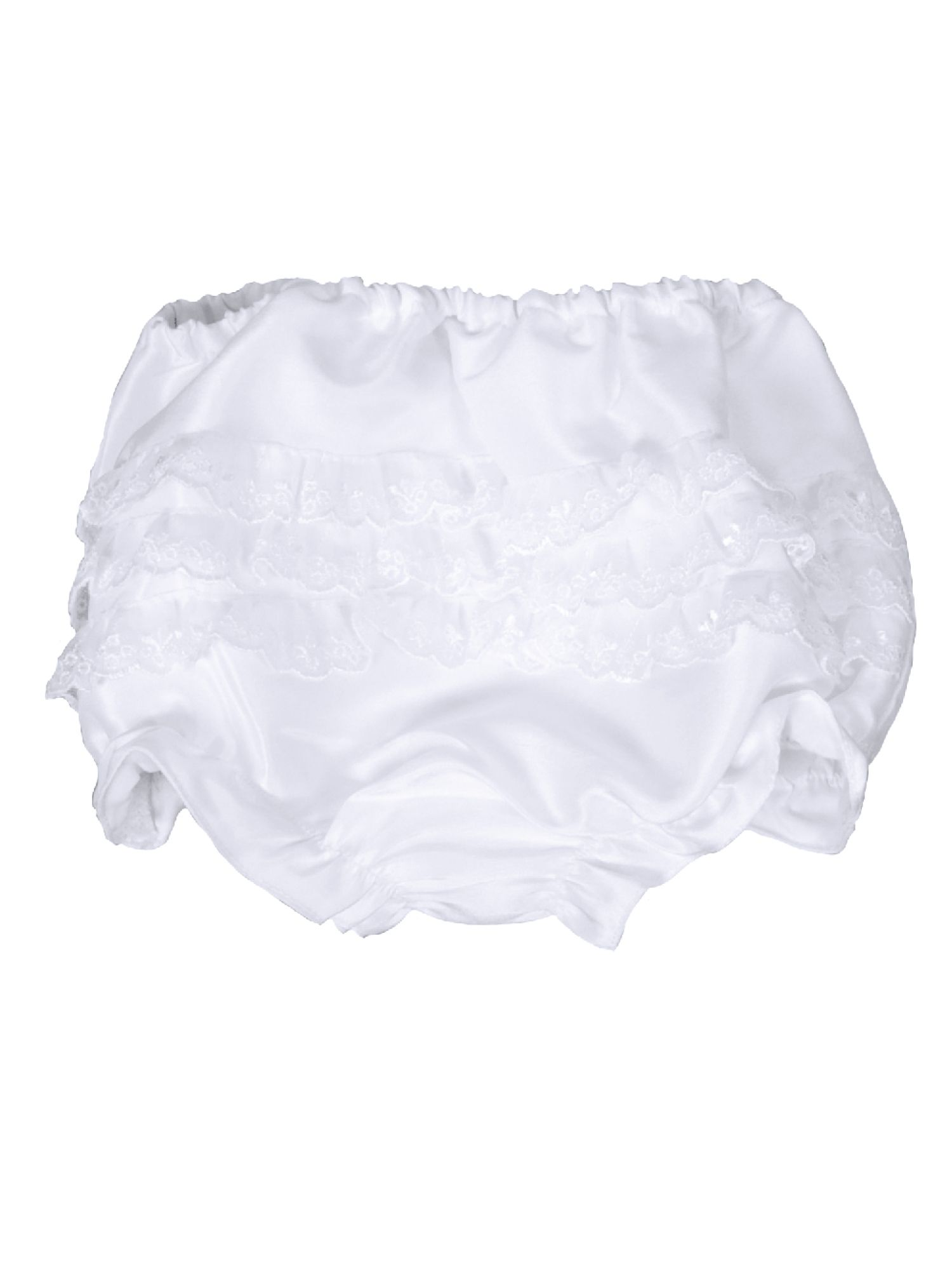 Baby Frilly White Knickers
