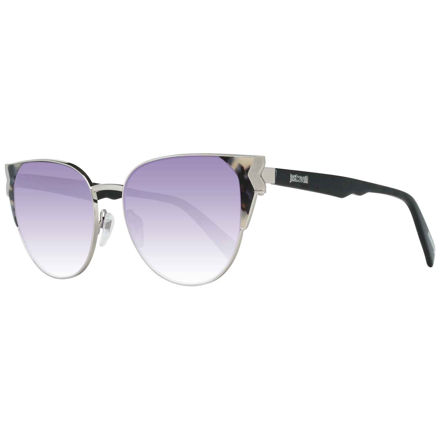 Just Cavalli Sunglasses JC825S 56Z 53 Women Silver