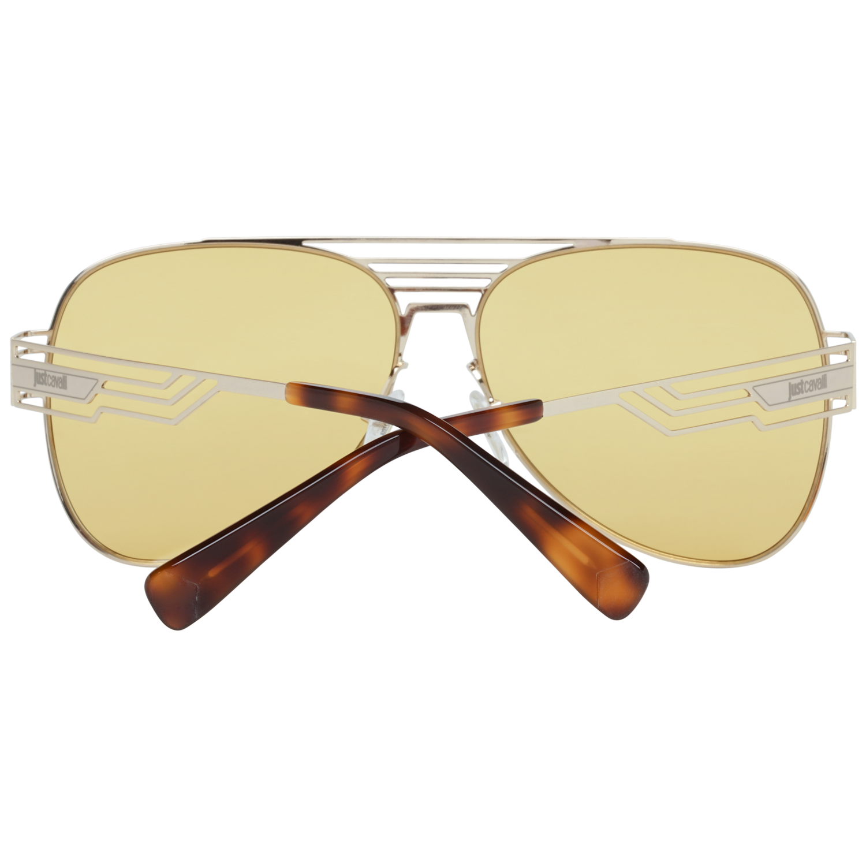 Just Cavalli Sunglasses JC914S 32E 61 Unisex Gold