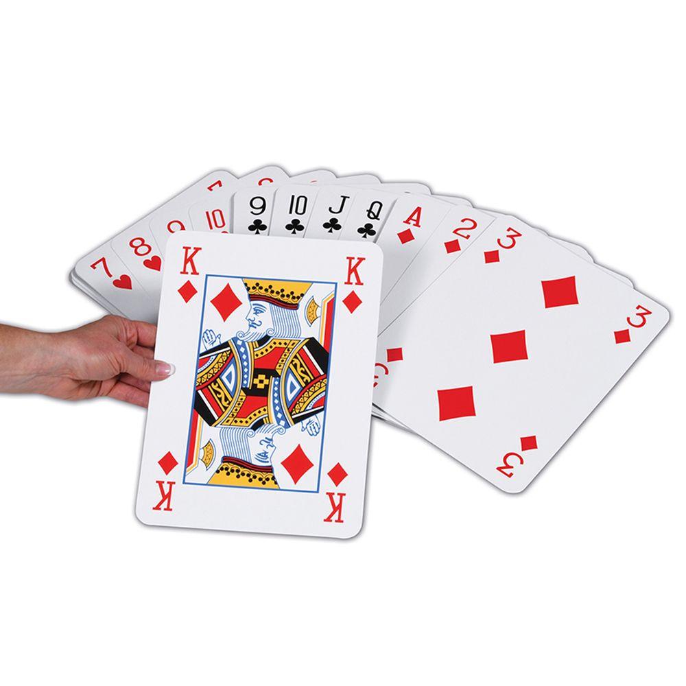 Jumbo Playing Cards Garden Game