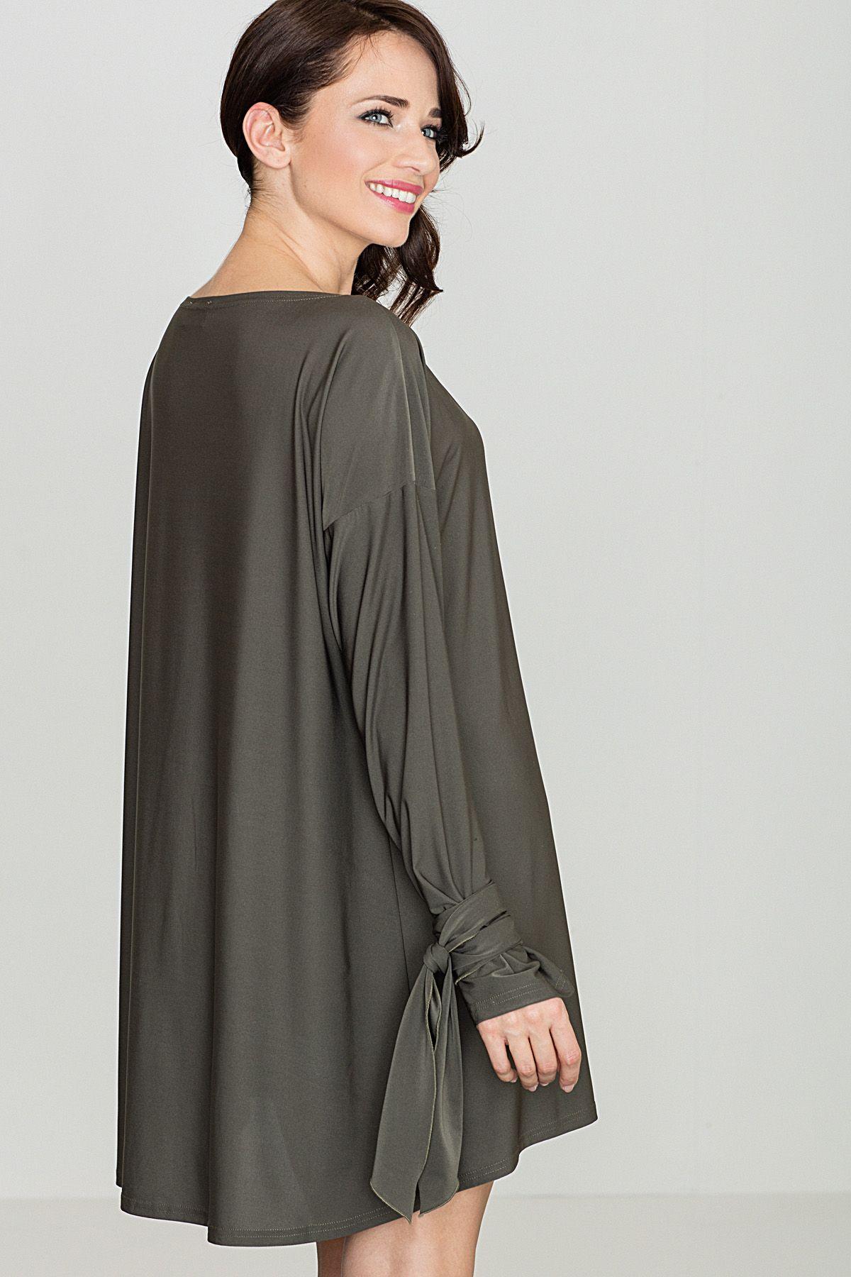 Long-Sleeved Tent Dress