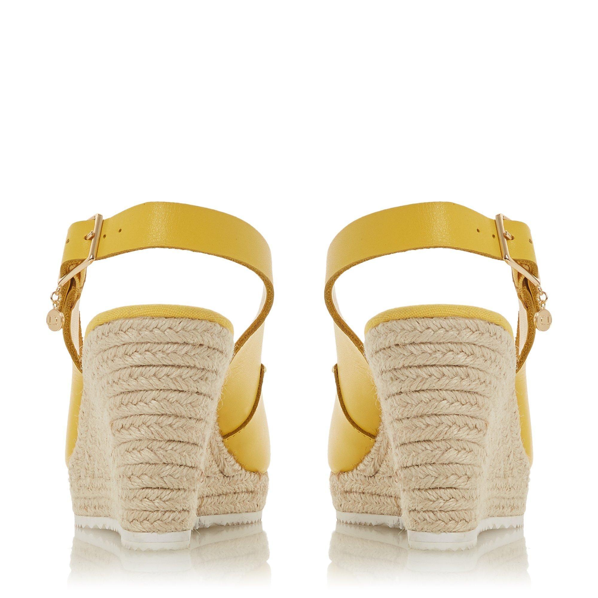 Dune Ladies KNOX Open Toe Wedge Sandals