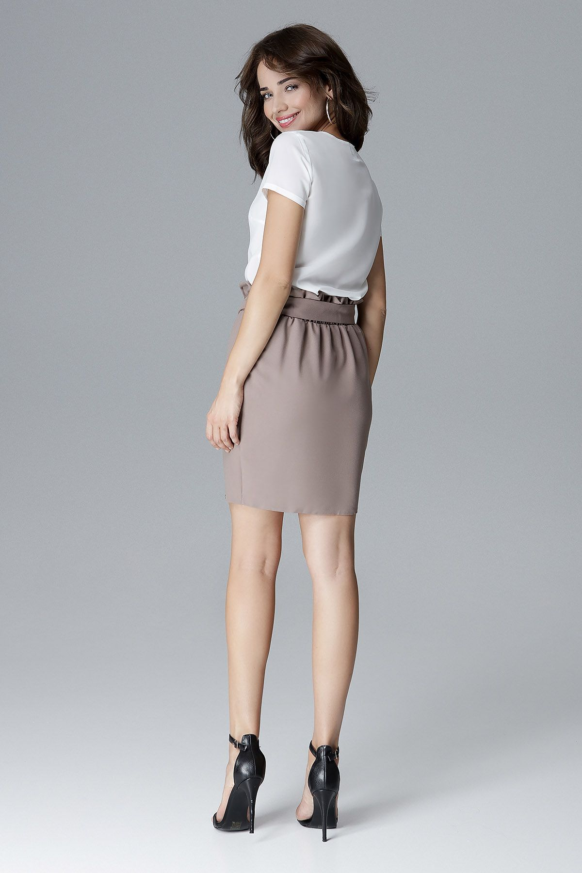 Effective Skirt On Gum With Belt