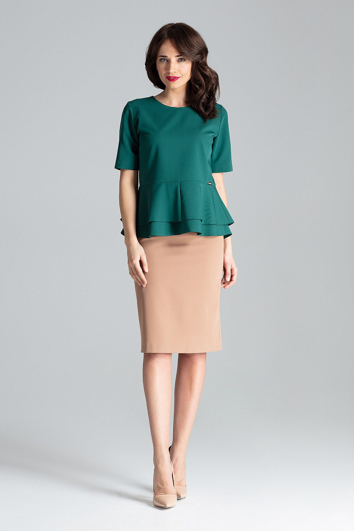 Midi Fitted Skirt