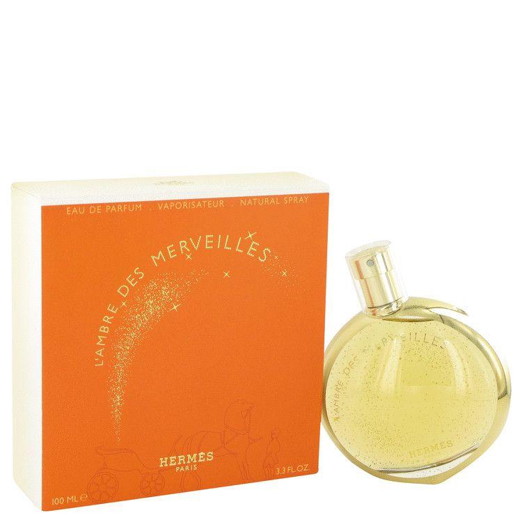 L'ambre Des Merveilles Eau De Parfum Spray By Hermes 100 ml